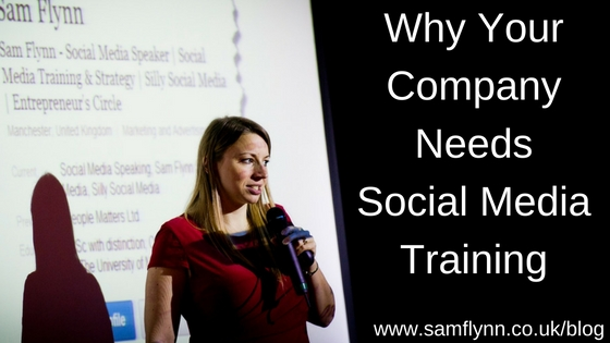 Why your company needs social media training