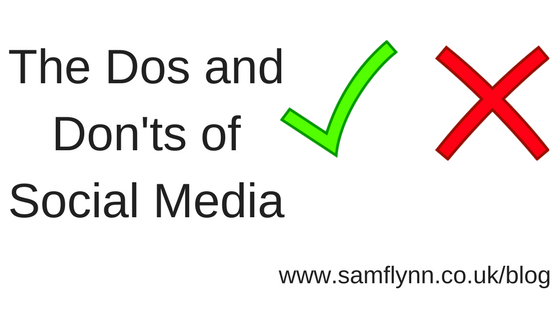 The Dos and Don'ts of Social Media
